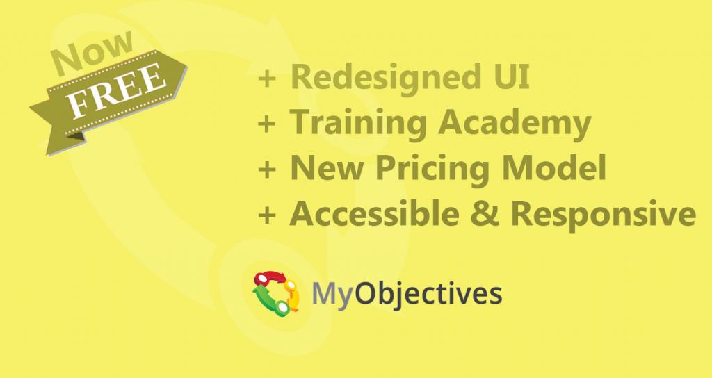 MyObjectives 3.0 release graphic
